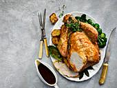 Roast Thanksgiving turkey