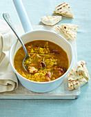 Lentil soup India style