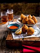 Coxinhas - Brazlian streed food meets British Sunday roast
