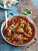 Indian chicken Vindaloo