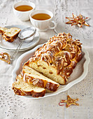 Butter Christmas cake with anise