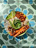 Couscous Bowl, vegan