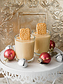 Speculoos with Christmas curd