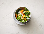 Feldsalat mit Joghurtsauce