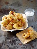 Pizzelle di sciurilli ai fiori di zucca - fried stuffed courgette flowers (Italy)