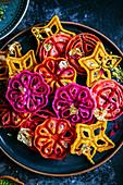Indian Jalebi waffles