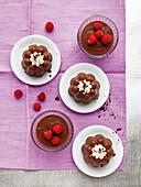 Chocolate pudding (Flammeri)