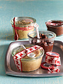 Butter with nuts and almonds