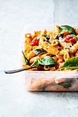 Quick pasta salad 'To Go