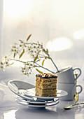 Semolina and honey cake