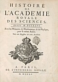 History of the French Royal Academy of Sciences