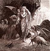 A Holy Man, 19th century illustration