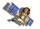 Vega spacecraft, illustration