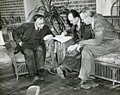 Breit, Fermi and Gamow, physicists