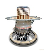 Venera 9 space probe, illustration