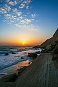Sunset over Persian Gulf