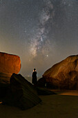Milky Way and the stargazer