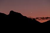 Mercury at dusk