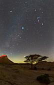 Night sky over Qeshm Island, Iran