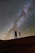 Night sky photographer and Milky Way