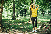 Centering mindful exercise in nature