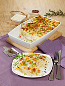 Asparagus lasagne