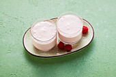 Raspberry-Yoghurt-Drink (sugar-free)