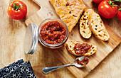 Tomato Relish with Ciabatta