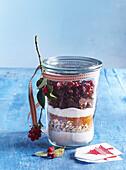 Cranberry cookies mixture