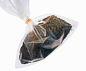 Mountain pepper in plastic bag