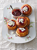 Dalken (traditional pastry of Bohemian cuisine)
