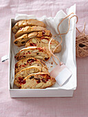 Italian almond cookies cantuccini