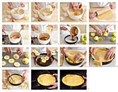 Tarte tatin (Reverse apple cake) - step by step