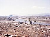 Atomic bomb destruction, Hiroshima, 1946