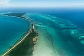Quifuki Island, Quirimbas, Mozambique, aerial photograph