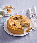 Christmas carp cake