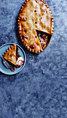 5-hour brisket and beer pie with cheddar pastry