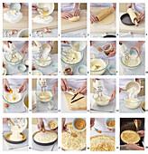 Honey tart - step by step
