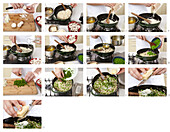 Risotto with mushrooms - step by step