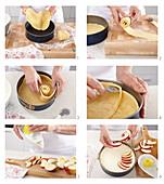 Apple cake - step by step