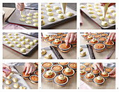 Muffins with chicks - step by step