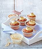 Muffins with chicks