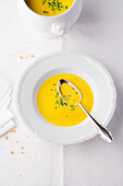 Cream of pumpkin cream soup from Baden