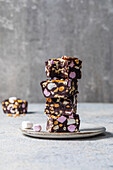 Rocky road chocolate fudge