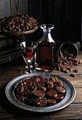 chocolates and madeira wine