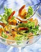 Prawn salad surprise