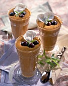 coffee mousses with mascarpone