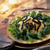 warm ratte potato and truffle salad (topic: chef recipes)