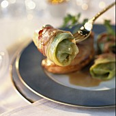 Pheasant Supreme and little stuffed cabbages