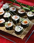 Tuna and cucumber maki